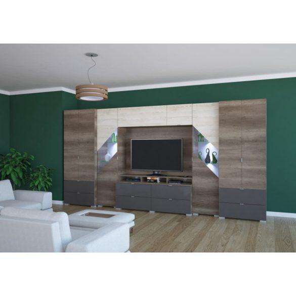 Katar 412 cm szekrénysor